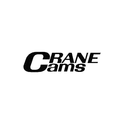Crane Cams S Decal