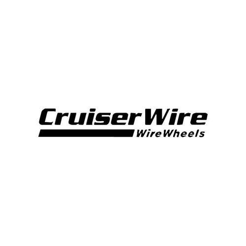 Cruiser Wire Logo Jdm Decal