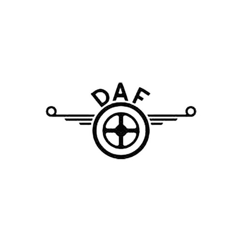 Daf Old Logo S Decal