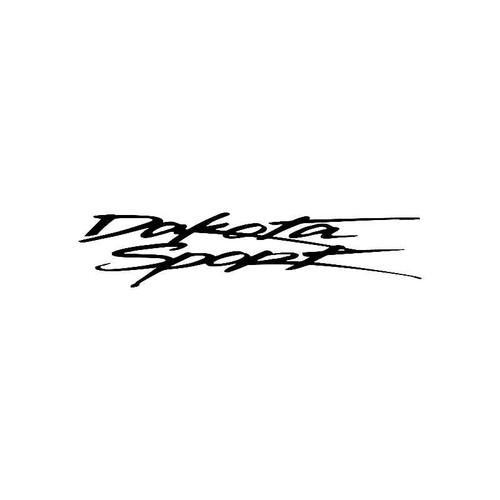 Dakota Sport Logo Jdm Decal
