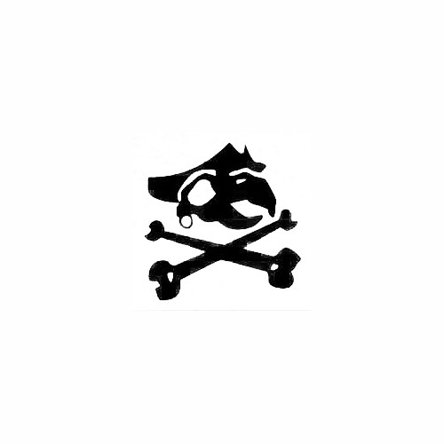 Turtle Pirate Decal Size option will determine the size from the longest side Industry standard high performance calendared vinyl film Cut from Oracle 651 2.5 mil Outdoor durability is 7 years Glossy surface finish
