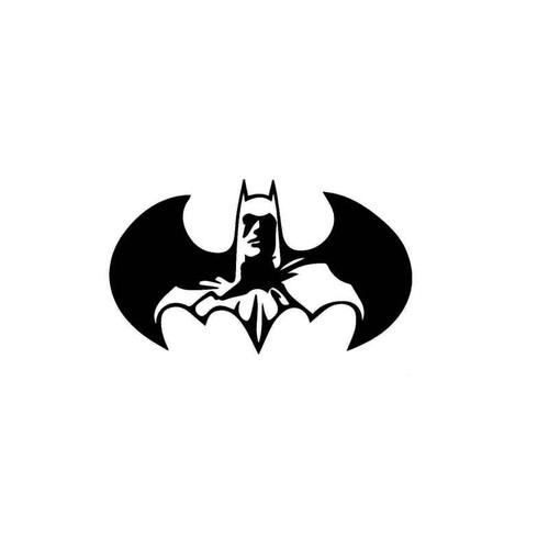 Dc Comics Batman In Logo Decal