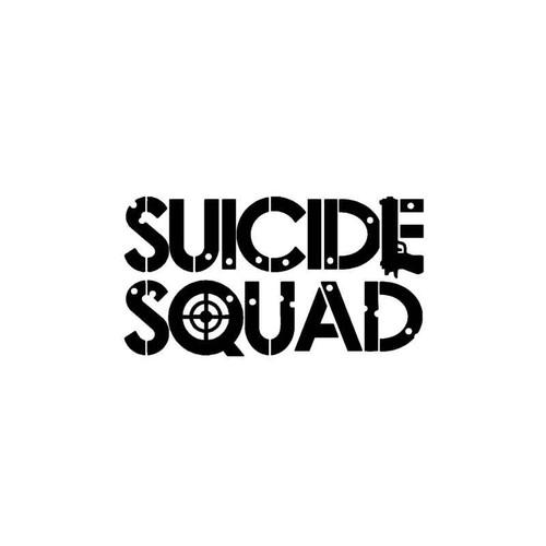 Dc Comics Suicide Squad Decal