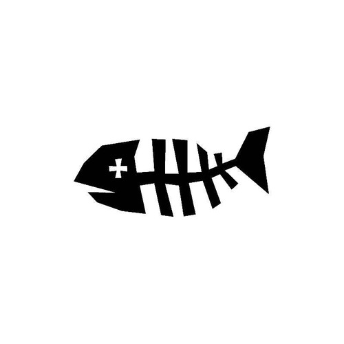 Dead Fish Decal