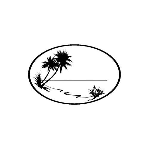 Desert Island S Decal