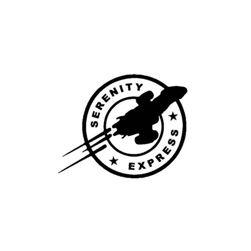 Firefly Serenity Express Logo Decal