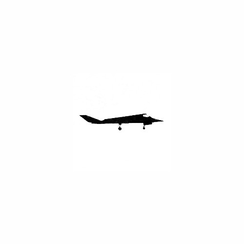 Airplane Silhouette Decal (07) Size option will determine the size from the longest side Industry standard high performance calendared vinyl film Cut from Oracle 651 2.5 mil Outdoor durability is 7 years Glossy surface finish