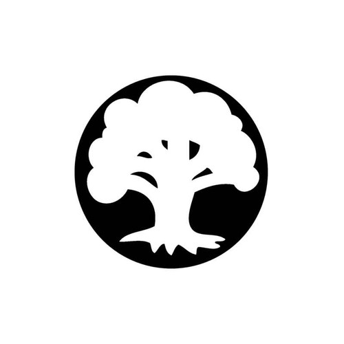 X-Men Magic The Gathering Mana Forest Decal