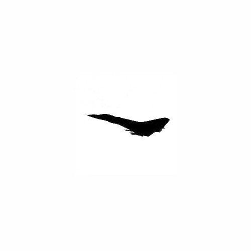 Airplane Silhouette Decal (22) Size option will determine the size from the longest side Industry standard high performance calendared vinyl film Cut from Oracle 651 2.5 mil Outdoor durability is 7 years Glossy surface finish