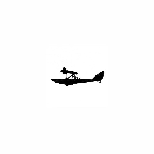 Airplane Silhouette Decal (20) Size option will determine the size from the longest side Industry standard high performance calendared vinyl film Cut from Oracle 651 2.5 mil Outdoor durability is 7 years Glossy surface finish