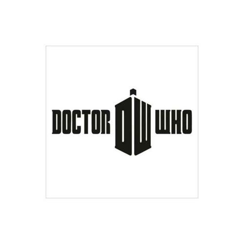 Doctor Who Tardis Logo Decal