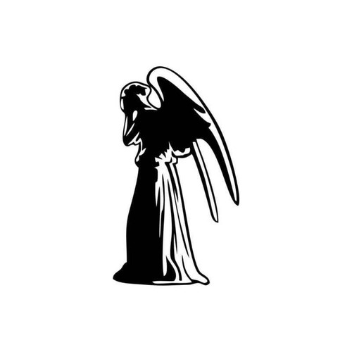 Doctor Who Weeping Angel Decal