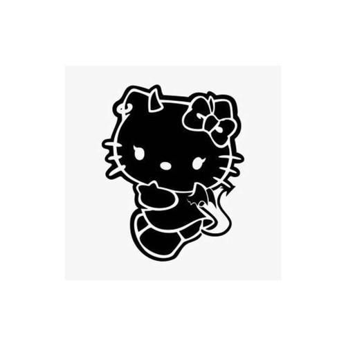 Hello Kitty Devil Decal