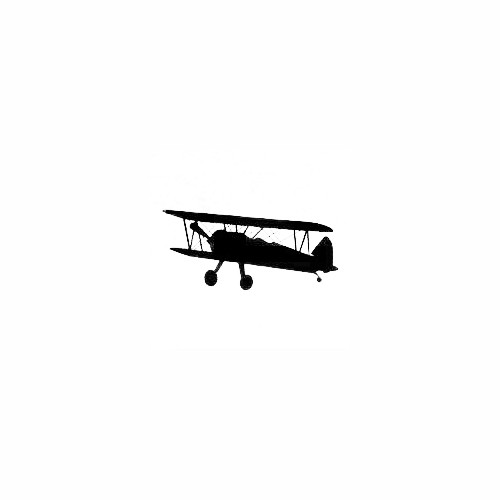 Airplane Silhouette Decal (29) Size option will determine the size from the longest side Industry standard high performance calendared vinyl film Cut from Oracle 651 2.5 mil Outdoor durability is 7 years Glossy surface finish