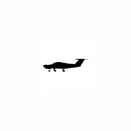 Airplane Silhouette Decal (19) Size option will determine the size from the longest side Industry standard high performance calendared vinyl film Cut from Oracle 651 2.5 mil Outdoor durability is 7 years Glossy surface finish