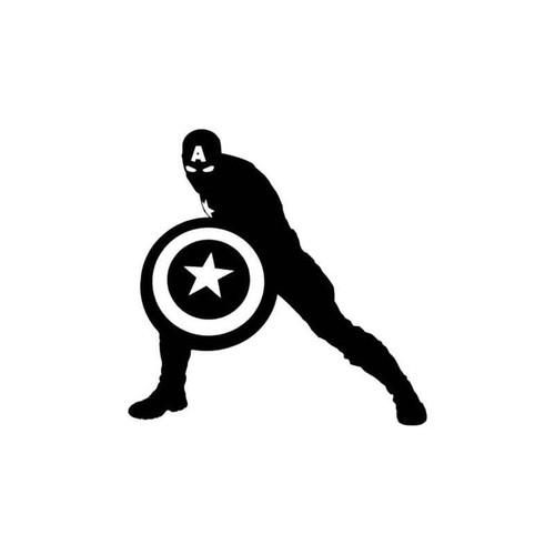 Avengers Captain America Decal