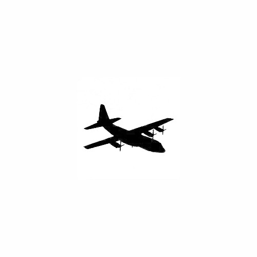 Airplane Silhouette Decal (11) Size option will determine the size from the longest side Industry standard high performance calendared vinyl film Cut from Oracle 651 2.5 mil Outdoor durability is 7 years Glossy surface finish