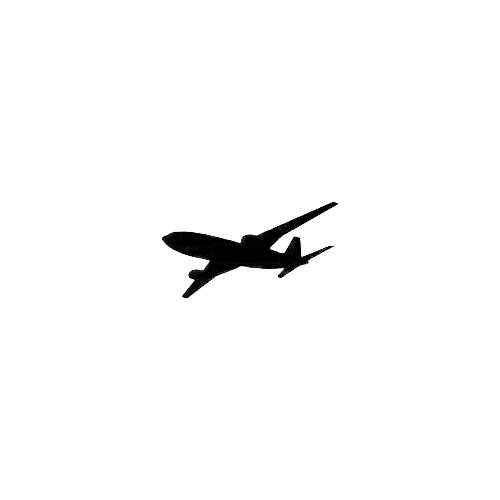 Airplane Silhouette Decal (12) Size option will determine the size from the longest side Industry standard high performance calendared vinyl film Cut from Oracle 651 2.5 mil Outdoor durability is 7 years Glossy surface finish