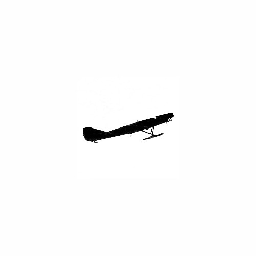 Airplane Silhouette Decal (21) Size option will determine the size from the longest side Industry standard high performance calendared vinyl film Cut from Oracle 651 2.5 mil Outdoor durability is 7 years Glossy surface finish