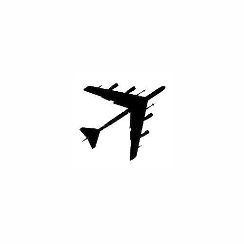 Airplane Silhouette Decal (16) Size option will determine the size from the longest side Industry standard high performance calendared vinyl film Cut from Oracle 651 2.5 mil Outdoor durability is 7 years Glossy surface finish