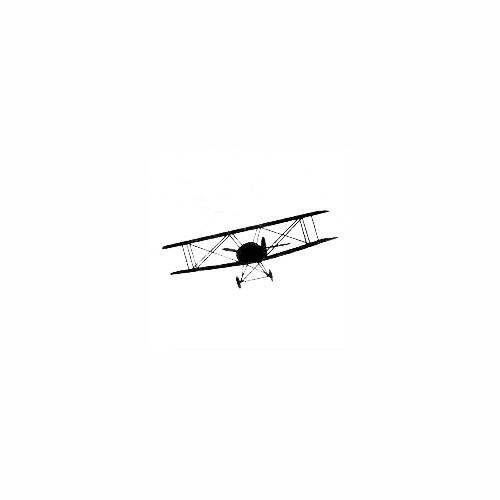 Airplane Silhouette Decal (25) Size option will determine the size from the longest side Industry standard high performance calendared vinyl film Cut from Oracle 651 2.5 mil Outdoor durability is 7 years Glossy surface finish