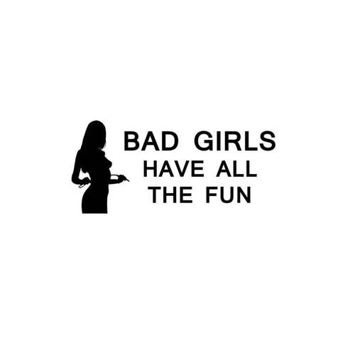 Sexy Hot Women Girl Adult Pinup Bad Girls Fun Decal