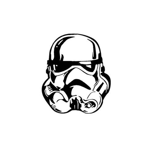 Star Wars Empire Stormtrooper Helmet Decal