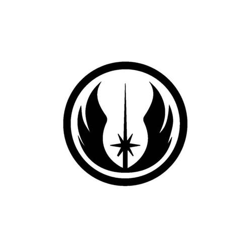 Star Wars Jedi Logo Decal