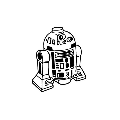Star Wars R2D2 Decal