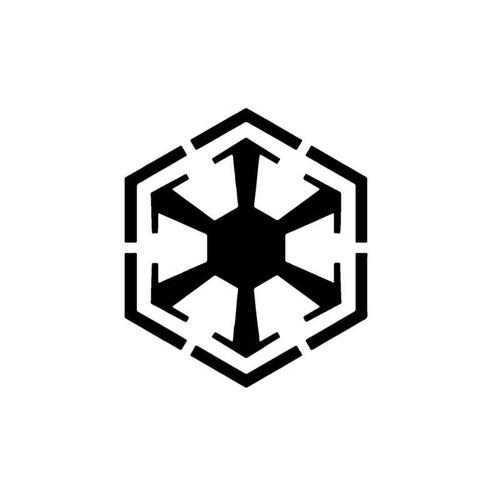 Star Wars Sith Dark Side Logo Decal