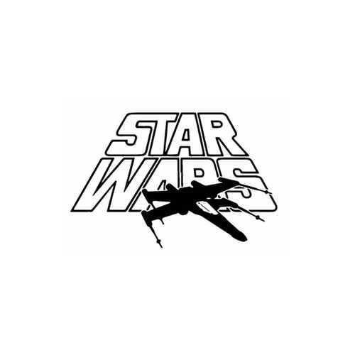 Star Wars Xwing Decal