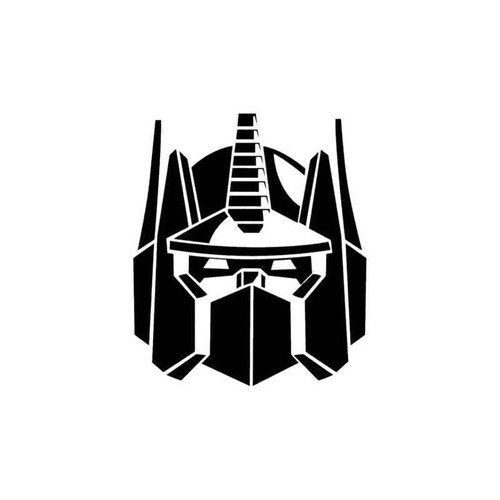 Transformers Autobots Optimus Prime Decal