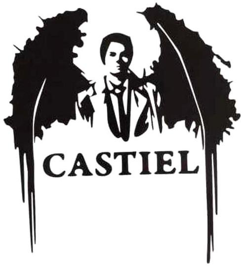 Castiel Angel Wings