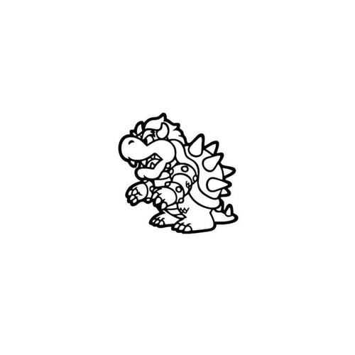 Super Mario Bowser Decal