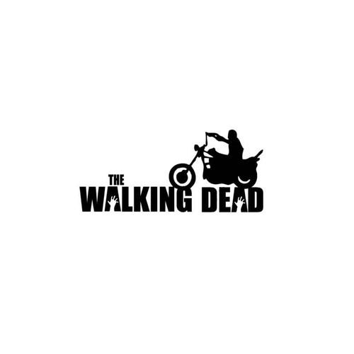 Daryl Dixon Motorcycle Decal