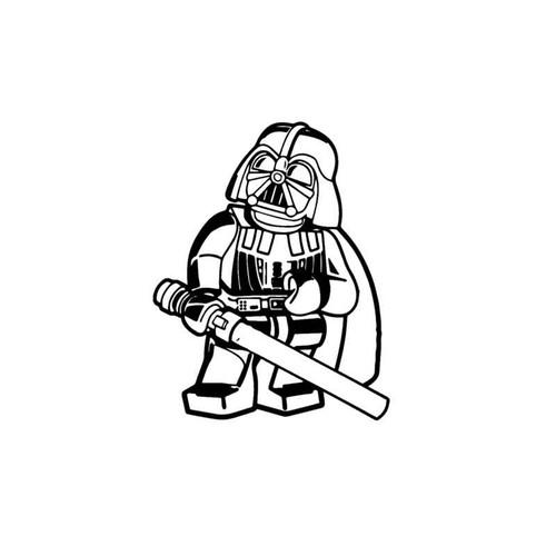 Star Wars Lego Darth Vader Decal