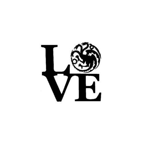 Game Of Thrones Daenerys Love Decal