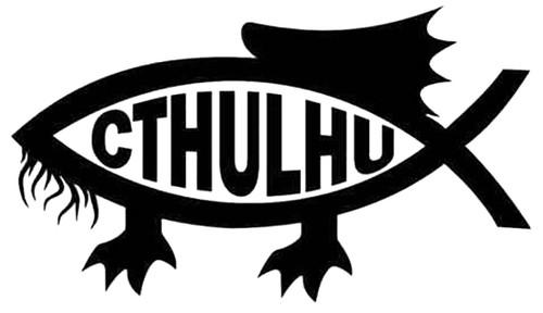 CTHULHU Darwin Fish