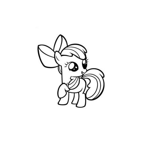X-Men My Little Pony Apple Bloom Decal