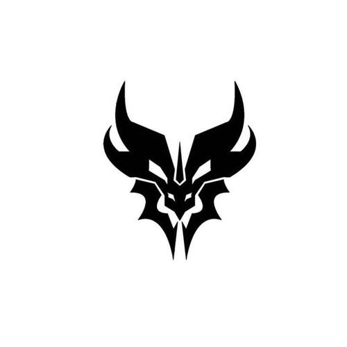 Transformers Decepticons Pretacons Logo Decal