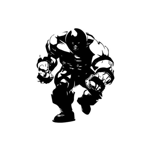 X-Men Juggernaut Decal
