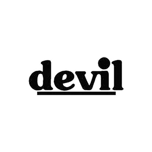 Devil S Decal