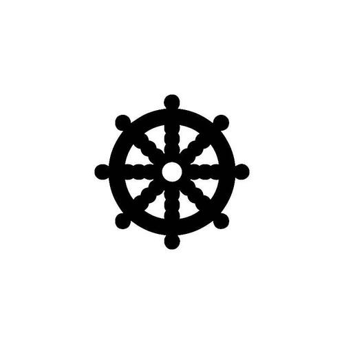 Dharma Wheel Decal