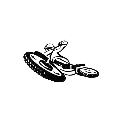 Dirt Bike Rider S Decal
