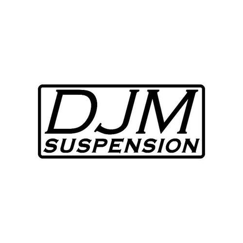 Djm Suspensions Logo Jdm Decal