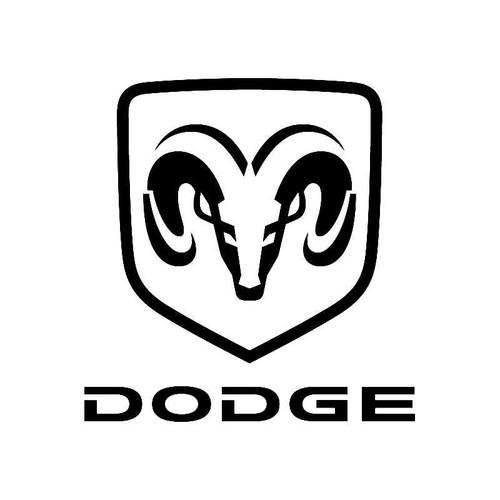 Dodge3 Logo Jdm Decal