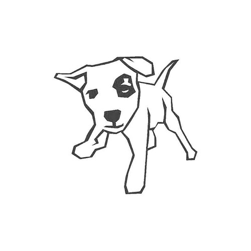 Dog Simple Decal