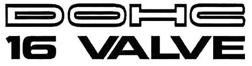 DOHC 16 Valve