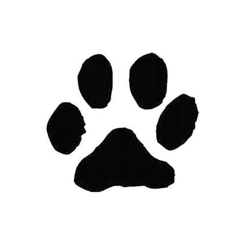 Domestic Cat Paw Print Tracks S Decal