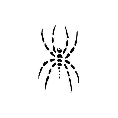 Dotted Spider Decal